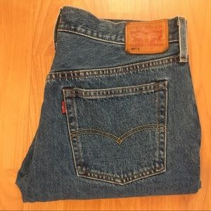 Vtg Levi's Men's 501 Skinny Button Selvaged Jeans